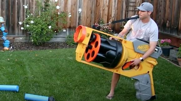 Fini de rigoler, le Bazooka Nerf Géant a vu le jour