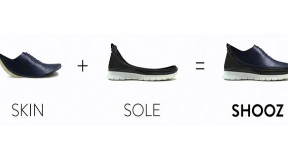 Une paire de chaussures multifonctions et interchangeables, Shooz débarque sur le marché