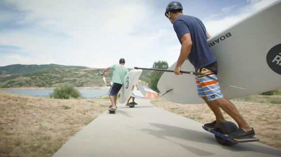 OneWheel le premier Skateboard électrique et tout terrain