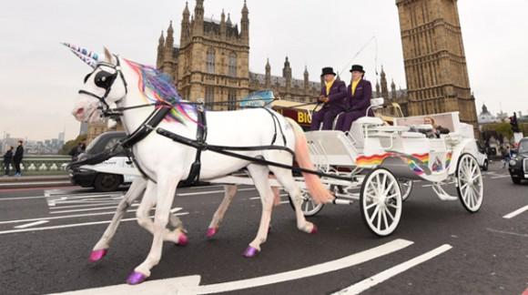Et si votre taxi n'était pas une voiture mais une licorne ?
