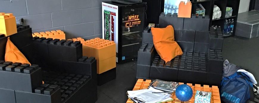 Everblock: Personnalisez votre intérieur avec des LEGO géants