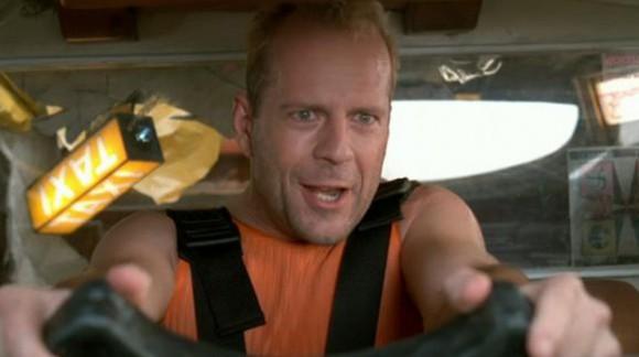 Ça vous dit une promenade dans le taxi volant de Korben Dallas ?