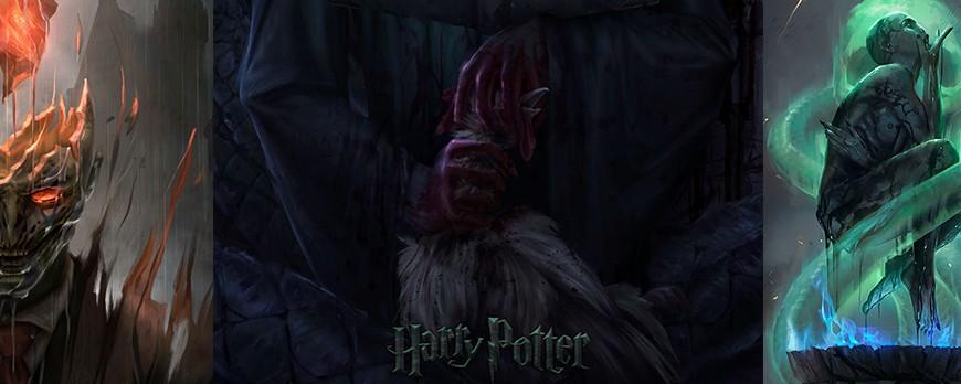 Harry Potter - Des affiches terrifiantes et un artiste très inspiré !