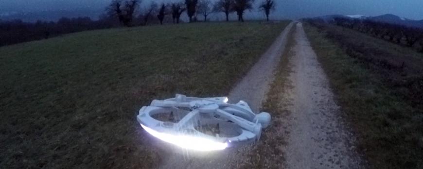 Le drone Faucon Millenium arrive enfin !