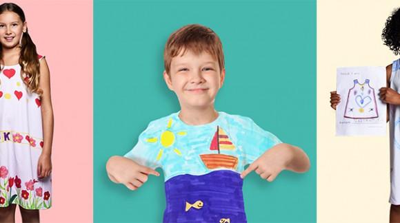 """Ajoutez de la couleur à la garde-robe de vos enfants, grâce au concept """"Imagine ton Look""""!"""