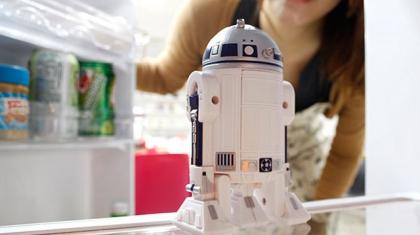 Un R2-D2 parlant pour animer votre triste frigo