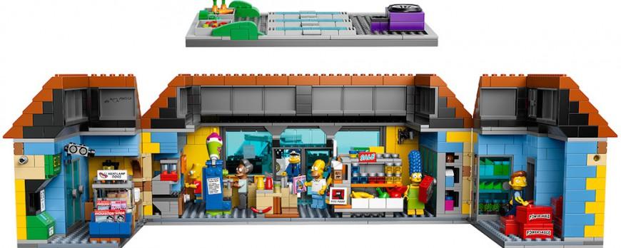 LEGO Simpsons, la sortie du Kwik-E-Mart est pour bientôt !