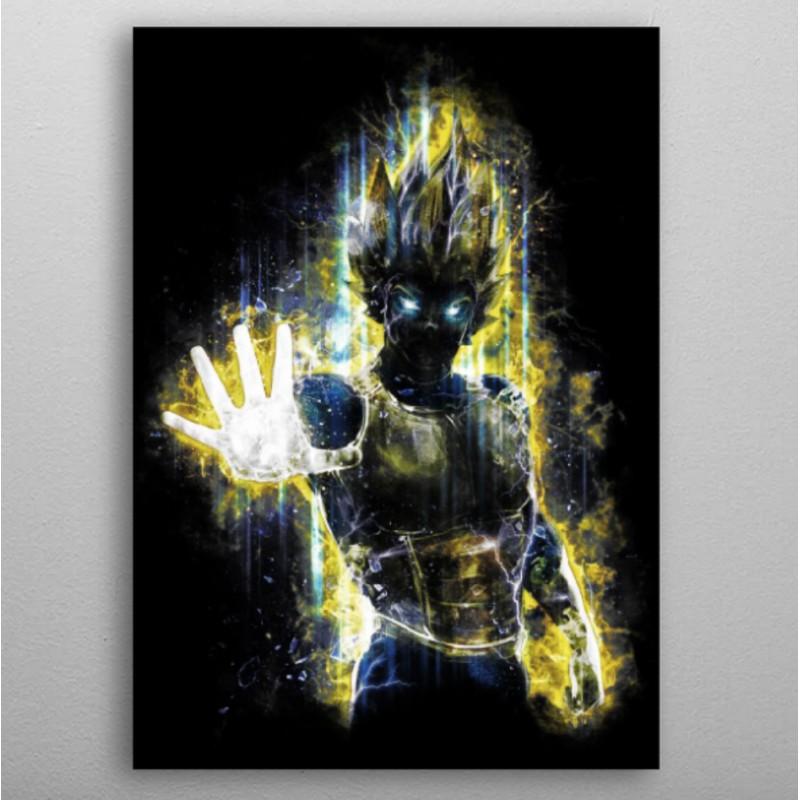 Vegeta the ultimate prince warrior